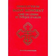 OFFICE ET VIE DE SAINT HONORAT D'ARLES