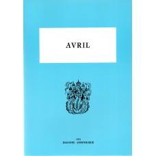 MENEE D'AVRIL (Les Ménées tome 4)