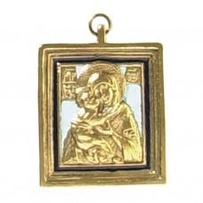 Nr. 1 – Notre-Dame de Vladimir (5 x 6 cm)