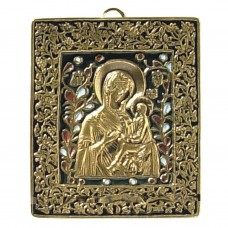 Nr. 11 – Notre-Dame de Tichvine (11 x 9 cm)