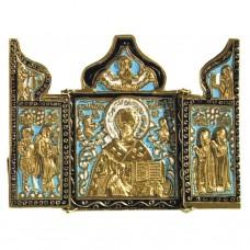 Nr. 32 – Triptyque de Saint Nicolas (10,5 x 14 cm)