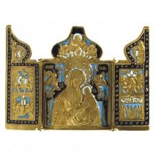 Nr. 33 - Triptyque de Notre-Dame des Douleurs (11,5 x 16 cm)