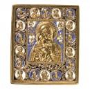 "Nr. 50 – Notre-Dame ""Feodorovskaya"" (13,5 x 11,5 cm)"