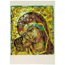86. Notre-Dame de Tendresse, mosaïque