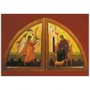 103. Église byzantine. Portes saintes de l'iconostase (détail) (George Morozov)