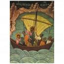 106. Le Christ apaise la tempête