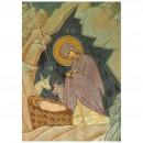 124. La Nativité du Seigneur (détail)