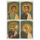 136. Saints prophètes Habacuc, Zacharie, Jonas et Ezéchiel