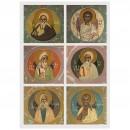 137. Saints Patriarches Adam et Abel, Abraham et Isaac, Jacob et Joseph