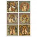 138. Saints Melchisédech et Aaron, David et Samuel, Salomon et Josias